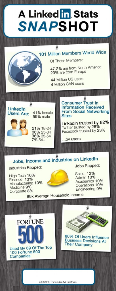 LinkedIn Infographic1 409x1024 LinkedIn: Promoting Your Book With LinkedIn