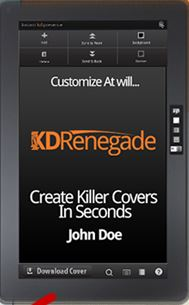 KD Renegade Review-Create Professional Looking Covers in Minutes