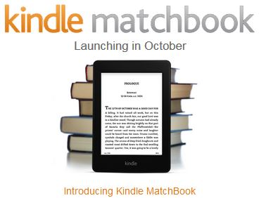 Amazon's New Matchbook Feature and What it Means for Authors and Publishers